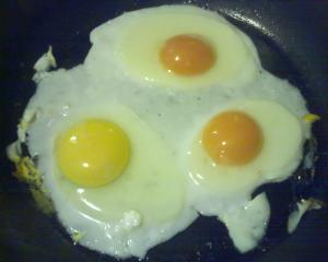 yolks are orange in real life